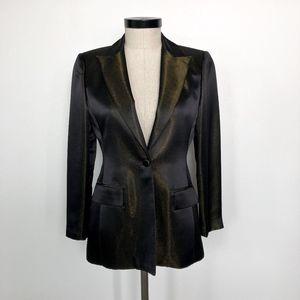 Oscar by Oscar de la Renta  Black Metallic Jacket